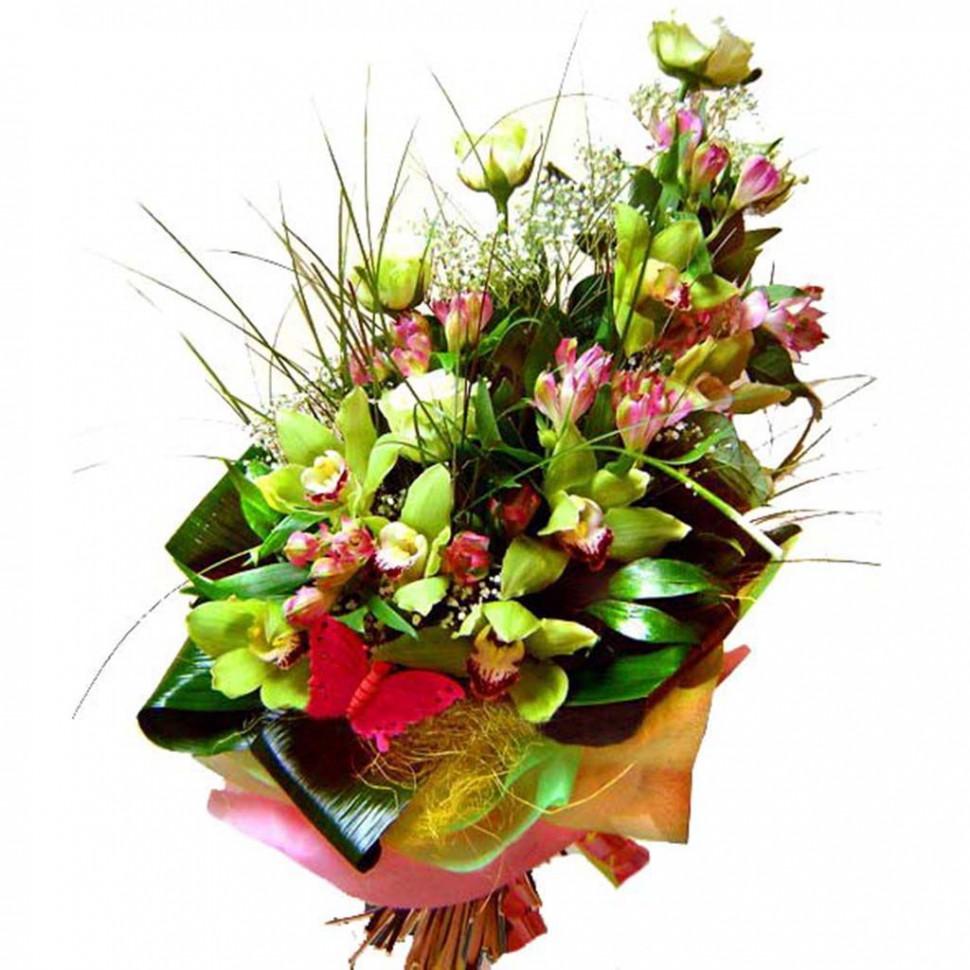 Мужской букет на юбилей 35 лет, цветов черновцы недорого